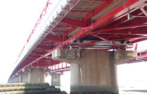 平成23年度 23号揖斐長良大橋(上り)右岸耐震補強工事