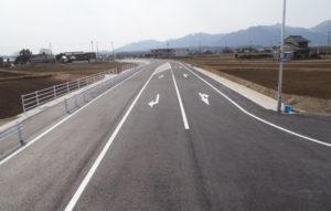 平成25年度 一般県道上海老高角線舗装工事