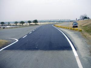 平成19年度 長島総合運動公園管理道路修繕工事