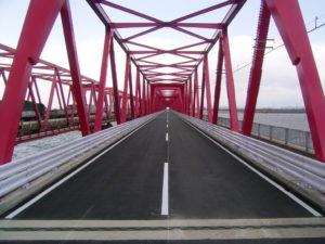 平成21年度 23号木曽川大橋防護柵設置工事
