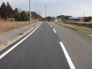 平成22年度 一般地方道西庄内高塚線 公共土木施設維持管理(舗装整備その2)工事