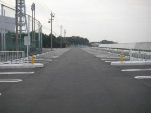 平成23年度 総合体育館駐車場等周辺施設改修工事