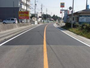 平23年度 主要地方道北勢多度線 舗装修繕工事