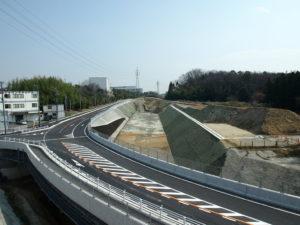 平成24年度 北勢BP垂坂道路建設工事