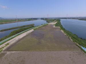 長良川上坂手地区河道整備工事