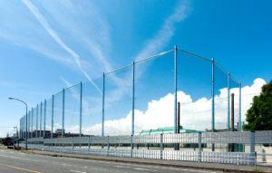川越中学校防球フェンス・南校舎非常階段改修工事